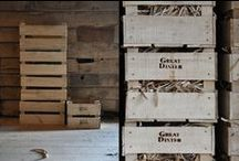Great Dixter wood / These items are all made on site in the Great Barn, almost entirely from wood harvested from our own woodland.
