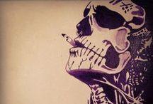 Skull <3 / by Nan Synaesthesik