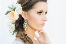 Wedding Hair - Braids and Flowers
