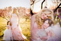 Ronda Wollard Originals: Dream Concept Pinterest Contest / Fairytale theme mother daughter session with a vintage flare.  Clean, soft & natural colors with few props. Just me and my 6 yr old and lots of love!