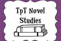 Novel Studies Grades 3-6 / Grab some awesome resources for novel studies!