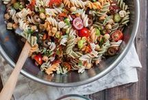 Vegan Pasta Ⓥ / Delicious plant-based pasta recipes + food photography inspiration! All dairy-free & eggless.
