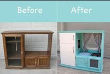 I love Repurposing! / by All Things New by Shari
