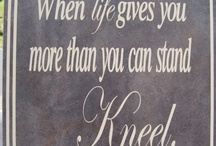 Words to live by / by Pamela Campbell