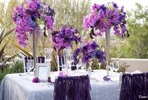 Tall floral centerpieces / Tall floral centerpieces for weddings and parties