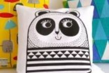 Jane Foster - handmade cushions / Here are some of the cushions I've designed and made for children over the past ten years or so.