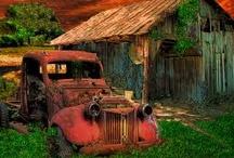 <3 Old Barns!! / by Amy Myrick
