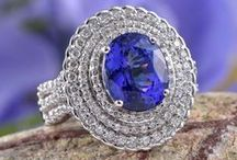 Tanzanite Jewelry / A thousand times rarer than diamond, the kaleidoscope of blues and violets found in Tanzanite both captivate and allure. Browse some of the beautiful Tanzanite Jewelry we have available here at the Liquidation Channel, the best source for affordable high-quality Tanzanite! We have pieces for every budget, so feel free to browse through our sample selection here, or view our entire inventory of Tanzanite jewelry on our website.  / by Liquidation Channel