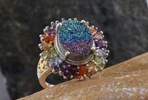 Drusy Quartz Jewelry / Browse some of the beautiful Drusy Quartz Jewelry we have available here at the Liquidation Channel, the best source for affordable high-quality Drusy Quartz! / by Liquidation Channel