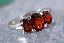Garnet Jewelry / by Liquidation Channel - Jewelry, Accessories, and Lifestyle