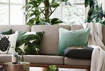Colour at home: Green / Green design and decor inspiration for your patch.