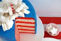 4th of July { red + white + blue }