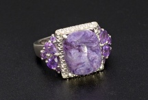 Siberian Charoite Jewelry / by Liquidation Channel - Jewelry, Accessories, and Lifestyle