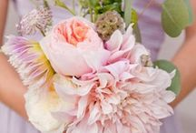 Pink peach and coral flowers / by FlorUnique Event Flowers