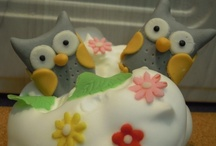 Cake and cupcake love / made by me!