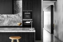 Colour at home: Black / Dark colours can be intimidating, but used carefully they can accentuate furniture and art work, and add a chic look and dimension. / by realestate.com.au