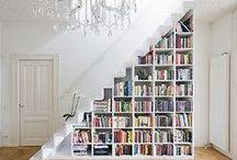 Home: Bookshelves & Reading Nooks