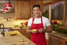 Feliz Navidad with Mario Lopez /  Mario Lopez shares some of his favorite family holiday traditions, including lots of fresh avocados from Mexico.  / by Avocados From Mexico