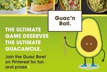 AFM Guac Bowl 2014 / The ultimate game deserves the ultimate guacamole. Help us crown the 2014 Guac Bowl Champion! Pin your favorite recipe with #guacbowl. Make sure you register first at http://contests.piqora.com/AFMguacbowl / by Avocados From Mexico