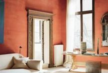 Colour at home: Red / Some interiors inspiration for those looking to incorporate a little red into their homes.