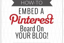 Learning - Pinterest / Tips to maximizing pins on Pinterest. / by Tyora Moody