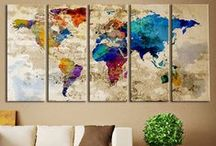 Art ideas for home / by realestate.com.au