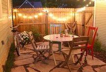 Backyard ideas / Beautiful backyards and inspirational ideas