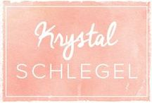HOLIDAY GUEST PINNER: Krystal Schlegel / by Mary Kay