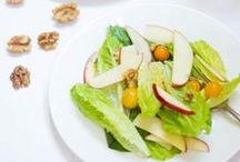 Salads and Dressings / Salads and everything that goes with them!