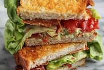 Sandwiches, Burgers and Wraps / Sandwiches, burgers, wraps and similar foods.