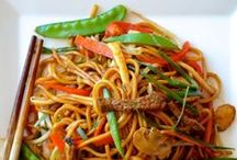 Asian Recipes / Noodle and Stir Fry recipes for when you get a craving for Asian food