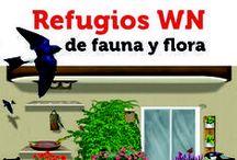Refugios WN de fauna y flora / Aprende y Explora todo lo que puedes hacer desde tu casa para la fauna y la flora. https://refugios.wnature.org/