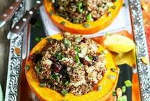 Fall Foods & Recipes / Food for fall and fall celebrations such as Thanksgiving and Halloween.