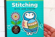 My 'Stitching With Jane Foster' book