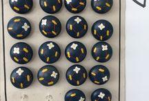 Vintage Buttons / Vintage knopen