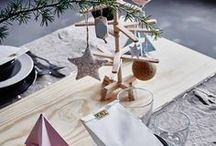 Christmas Style / Home trends for the Christmas season to entertain in style. Tips, ideas and inspiration for the christmas table.