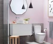 Bathroom Style / Bathroom interior style and inspiration. Makeover any size bathroom on any budget.