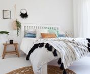 Bedroom Style / Inspiration for the bedroom from linen to beds, to decor and furniture