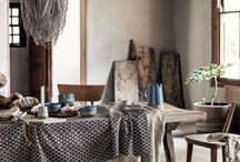 Dining Room Style / Ideas and inspiration to decorate the dining room and set up a stylish dining table to entertain