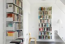 Bookshelf ideas / Alternative ways to display your beautiful book collection in the home
