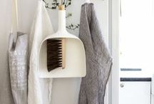 Laundry Style / Ideas for a stylish laundry makeover - no matter the size