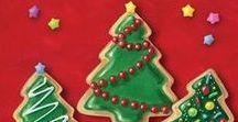 Christmas / Christmas food and decorations.