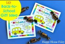 Back to School / Fun ideas and traditions to celebrate the beginning of school!