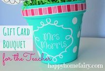 Teacher Appreciation / Meaningful, easy, and inexpensive ways to bless your child's teacher all year long!