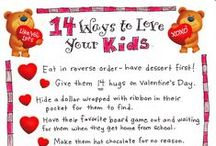 Valentine's Day / Fun holiday traditions, easy crafts, and activities to celebrate Valentine's Day!
