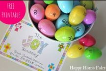 Easter/Spring / Celebrating the Easter and Spring season with fun crafts, Christ-centered activities, and delicious recipes.