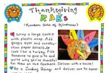 Thanksgiving / Fun holiday traditions, easy crafts, and activities to celebrate the Thanksgiving season and teach your kiddos about gratitude!