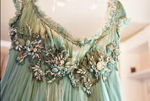 Enchanted Fashions / I love fashions that reflect romantic times or enchanted realms. Clothing with much embellishments are works for art.