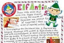 Elfcapades / The best hiding spots for your Elf on the Shelf! / by Happy Home Fairy