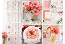 Colour Inspiration / Wedding colour inspiration